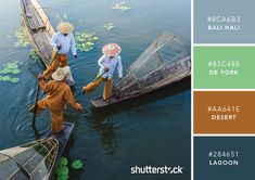 101 Color Combinations to Inspire Your Next Design – Morning Fishermen Color Palette