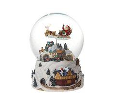 Snøkule med bevegelig julenisse og tog Snow Globes, Home Decor, Decoration Home, Room Decor, Home Interior Design, Home Decoration, Interior Design