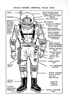 1952 Space Patrol Official Space Suit