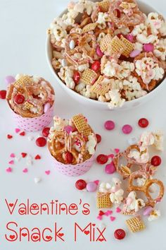 Stunning Picz: Valentine's Snack Mix