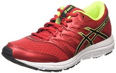 ASICS Gel-zaraca 4 Gs, Unisex-Kinder Laufschuhe, Rot (racinig Red/black/flash Yellow 2390), 38 EU - http://on-line-kaufen.de/asics/38-eu-asics-gel-zaraca-4-gs-unisex-kinder-2