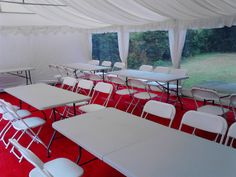 one of our 6m by 12m marquee's with panoramic window's