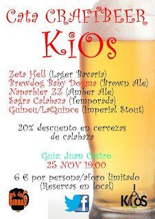 Pa' Las Birras: I Cata CRAFTBEER en KiOs Cervecería (25/11/2015 - ...