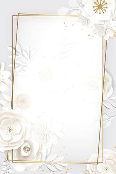 Frühling Wallpaper, Gold Wallpaper Background, Frame Floral, Flower Frame, Fond Design, Wedding Invitation Background, Baby Frame, Instagram Frame, Red Paper