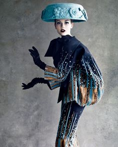 designs created by Christian Dior himself and his successors,Yves Saint Laurent, Marc Bohan and John Galliano are all in the book.