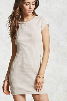 323da4a5aac I love this FOREVER 21 Ribbed Knit Mini Dress with unbelievable prices! NNT   afflink