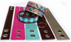 Behomian bracelats- Ibiza armbanden borduren- handwerkjuffie