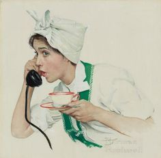 ILLUSTRATOR: Norman Rockwell ~