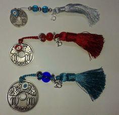 Χειροτεχνημα - Handmade Δεκάρες - νομίσματα σε διάφορες διαστάσεις Beaded Bracelets, Jewelry, Fashion, Moda, Jewels, Fashion Styles, Pearl Bracelets, Schmuck, Jewerly