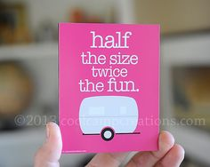 Small Travel Trailer Print by coolcampcreations on Etsy, $15.00