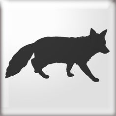 Pix For > Fox Silhouette