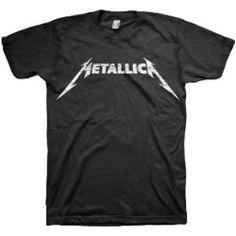 Metallica Logo T-shirt - Classic! http://www.band-tees.com/store/M_00900_116!BRVDO/Metallica+Logo+T-shirt
