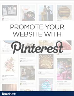 Free PDF eBook from Brainhost.com. Promote your website with Pinterest