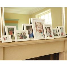 Family Frame Set, White - HALF PRICE with ANY OTHER PURCHASE! - Height Charts & Wall Art - Bedding & Room Accessories - gltc.co.uk