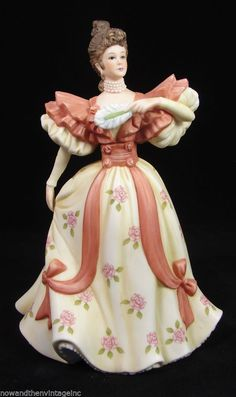 Vintage 1984 LENOX Porcelain Figurine Collections First Waltz Victorian Lady