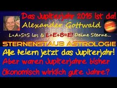 Jupiterjahr 2015 - wird es ein gutes oder ein Krisenjahr? | Sternenstaubastrologie