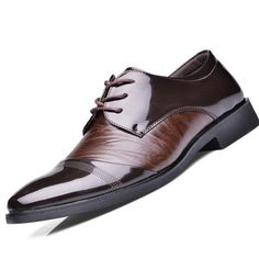 - Stylish work cool dress shoes to complete the perfect look - Great for the office or night club - Comfortable breathable upper - Made from leather - Available in 2 colors
