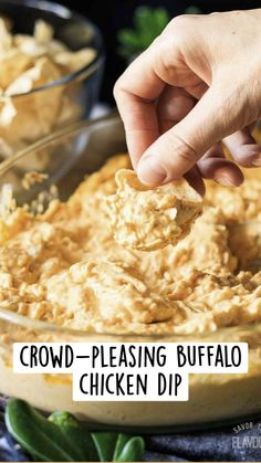 Chicken Appetizers, Great Appetizers, Appetizer Recipes, Sweet Potato Toppings, Buffalo Dip, Buffalo Chicken Recipes, Poached Chicken, Healthy Food, Healthy Recipes