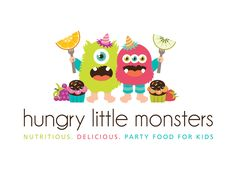 Enter to win a custom designed logo: http://boutiquebydesign.com/blog/free-logo-contest-details/ Boutique By Design Portfolio - Logo Design - Hungry Little Monsters Party Catering