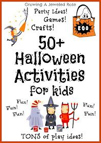 50+ Halloween activities for kids