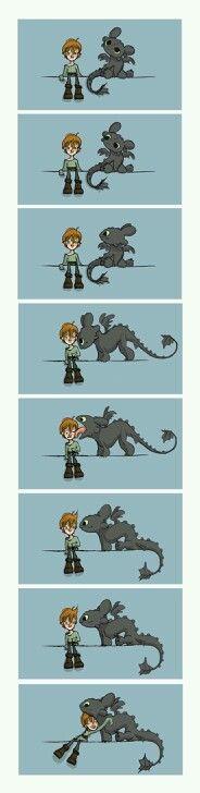 Cómo entrenar a tu dragón!