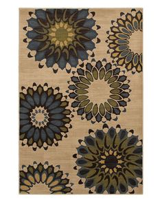 Rue La La sale!    Mohawk Home Hippie Chic Blue Rug