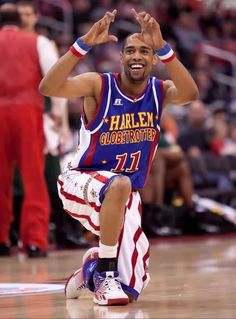 Smile for the camera in your Harlem Globetrotters #11 Cheese game jersey.  Get it here!