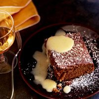 Double Gingerbread with Lemon Curd