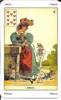 Sibilla Oracle (La Sibylle des Salons) Card Meanings – Golden Mousedeer Ace Of Hearts, Tarot Meanings, Remember The Name, Cartomancy, Tarot Spreads, True Friends, Meant To Be, Salons, Cards
