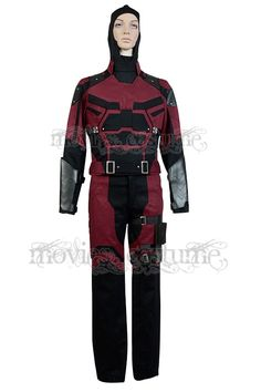 Daredevil Marvel Comics Outfit Cosplay Costume Movie Costumes, Adult Costumes, Cosplay Costumes, Halloween Cosplay, Halloween Costumes, Daredevil Cosplay, Movie Characters, Marvel Comics, Movie Tv