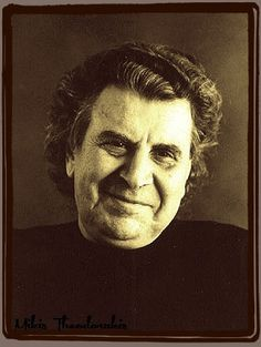 Mikis Theodorakis - the most famous greek composer. I love his music! It's the most sunny in the world :)