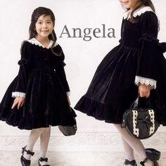 056f7f1227d5b 子供 ベロアセーラーカラーワンピース ( こどもドレス 子供服 入学式・卒園式