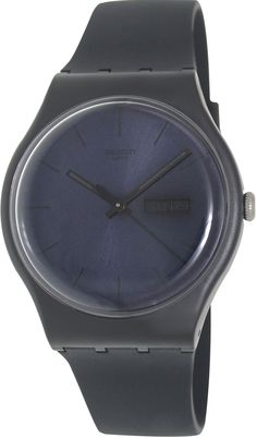 0b16511bdb37 Swatch Black Rebel Mens Watch SUOB702 Wrist Watches