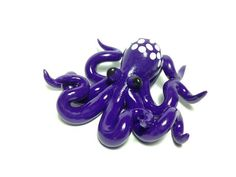 Octopus necklace cthulhu tentacle kraken sea by DevilishDesigns, $26.00
