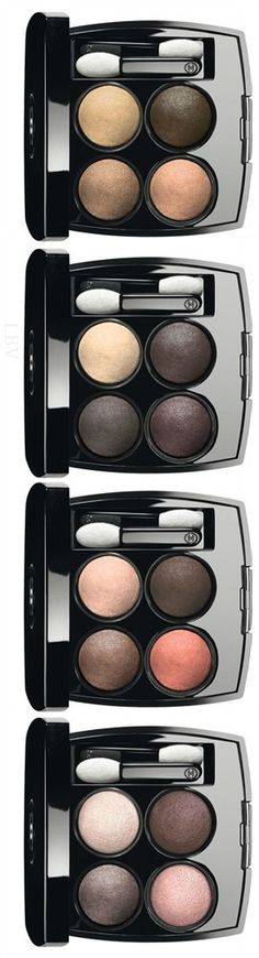 Chanel Les 4-Ombres Multi Effect Quadre Eyeshadows | LBV ♥✤