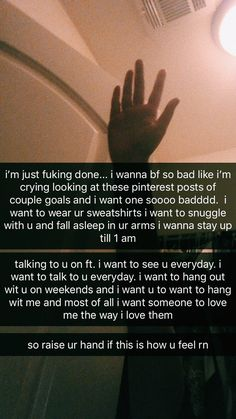 how i feel everyday 😭💔 Cute Relationship Texts, Relationship Goals Pictures, Cute Relationships, Relationship Videos, Angst Quotes, Mood Quotes, Happy Quotes, Girl Facts, Image Couple