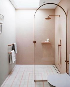 8 Luxury Bathroom Design Ideas To Inspire A pink children's ensuite bathroom with rose gold accents Bad Inspiration, Bathroom Inspiration, Interior Inspiration, Bathroom Ideas, Bathroom Goals, Bathroom Designs, Interior Ideas, Office Bathroom, Bathroom Plants