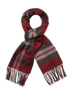 292fb3f1049 SAKS FIFTH AVENUE MEN S EXPLODED PLAID SCARF - DARK GREY.  saksfifthavenue