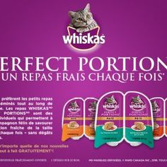 Un Emballage Individuel Perfect Portion Whiskas  GRATUIT