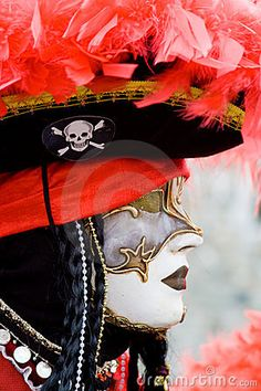 venice carnival costumes   Venice Carnival Costume Mask Stock Images - Image: 7800804
