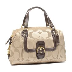NWT Coach Signature Campbell Large Satchel Bag. Starting at $1 on Tophatter.com!