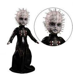 Living Dead Doll Hellraiser III: Hell on Earth Pinhead Living Dead Dolls, Horror Icons, High Priest, Halloween Doll, Patron Saints, Underworld, Macabre, Dark Side, The Darkest