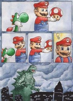 So that's where Godzilla really came from lol