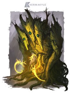 Daily Imagination #37 - Treant Spirits