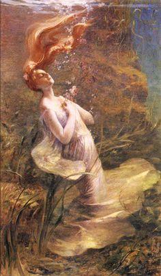 Ophelia from Paul Albert Steck