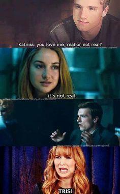 Divergent & Hunger Games