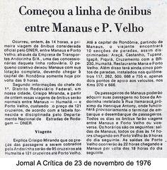Jornal A Crítica - 23/11/1976