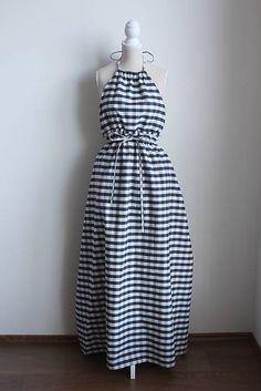 MarcelaHolickova / Dlhé šaty z Bavlny s vreckami