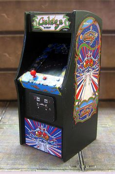 Galaga arcade game I will have this in my house one day! Stand up version is so much better than the sit down! My Childhood Memories, Childhood Toys, Bartop Arcade, Arcade Console, Paranormal, Consoles, Retro Arcade Games, Arcade Room, Vintage Video Games