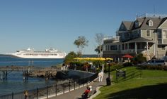 Insider info on Bar Harbor Maine lodging, best hotels, restaurants, and activities for your Bar Harbor Maine vacation Bar Harbor Maine, Harbor Hotel, Bar Harbour, Places To Travel, Places To Go, Canada Cruise, Visit Maine, Cruise Offers, Acadia National Park